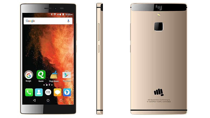 Micromax Canvas 6 with Fingerprint sensor launched in India at Rs. 13,999