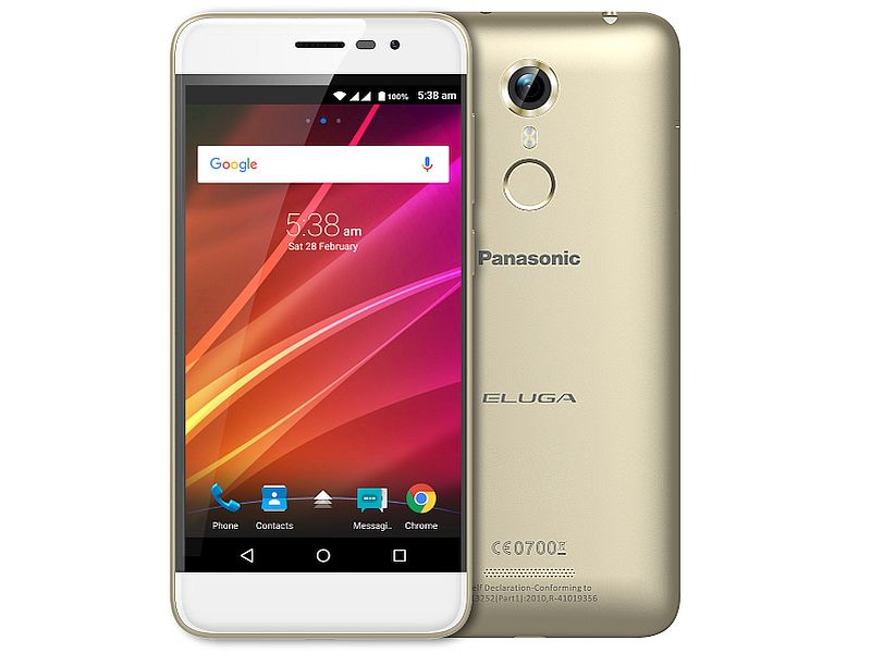 Panasonic Eluga Arc with FP sensor, HD Screen launched in India at Rs. 12,490