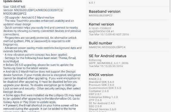 Samsung Galaxy Note5 gets Android 6 Marshmallow update in India