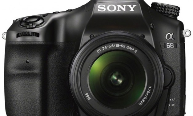 Sony A68 4D A-mount camera launched in India, price starts at Rs. 55,990