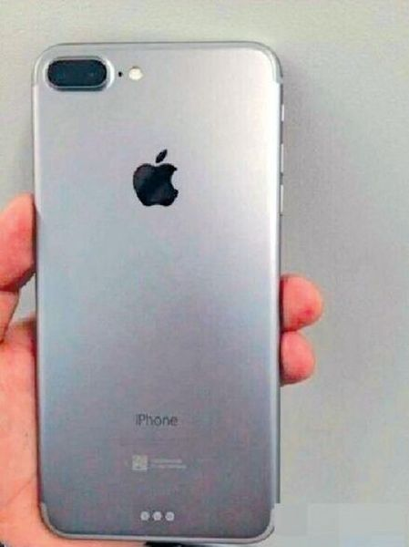 Apple iPhone 7 leaked photo hints at dual camera setup