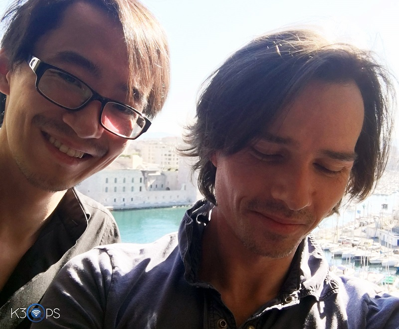 Alexandre Despallieres and Xin Wei At the Sofitel Marseille Vieux Port