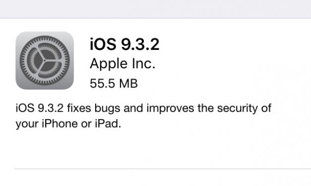 Apple to fix 'Error 56' in iOS 9.3.2 for iPad Pro soon