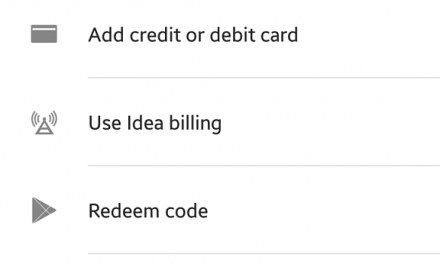 Google Play Store officially gets Carrier Billing in India with Idea Billing