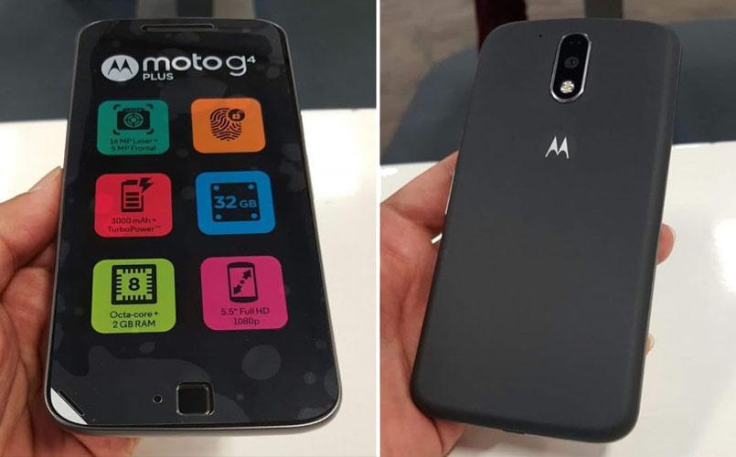 Motorola Moto G4 Plus retail box leaked, to come with 2GB RAM