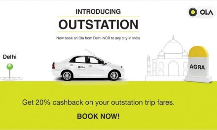 Ola launches Ola Outstation Cab service in Delhi/NCR and Jaipur