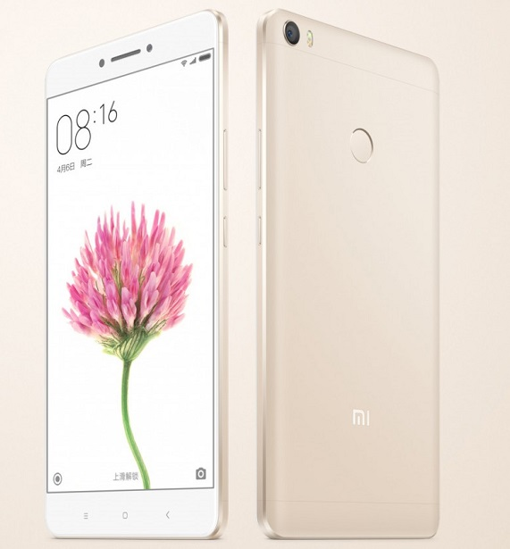 Xiaomi Mi Max with 6.44 inch screen launching in India on 30 June