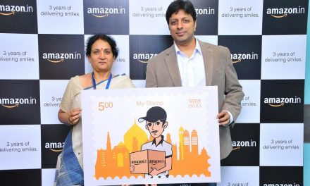 India Post releases Amazon India 'My Stamp' on completing 3 years