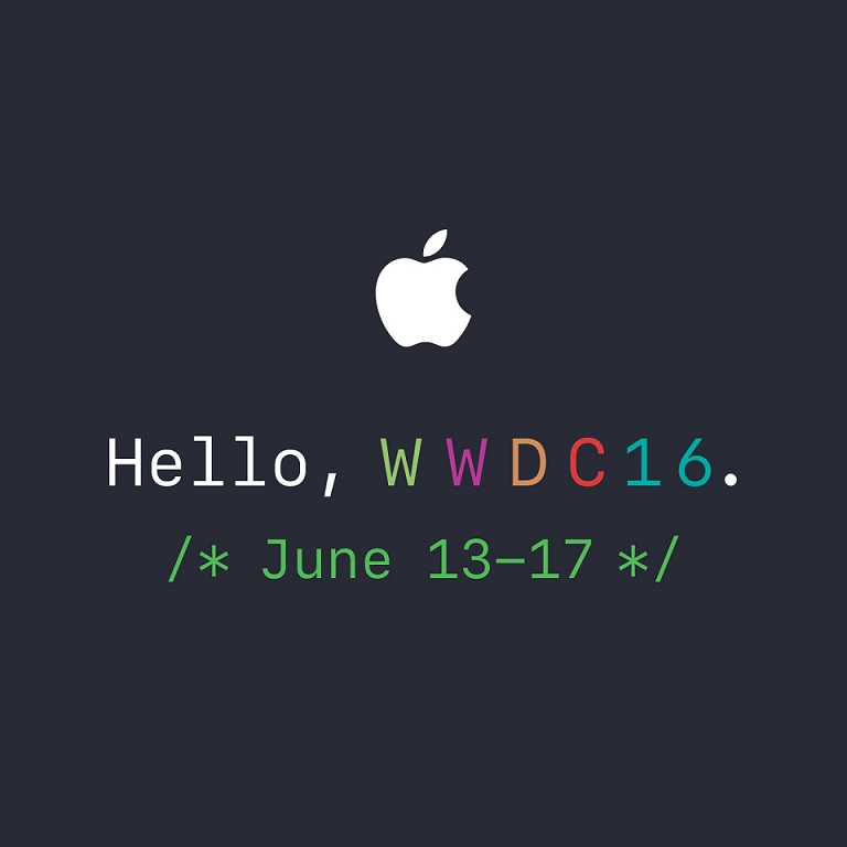 Apple WWDC 16