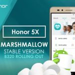 Huawei Honor 5X starts getting Android 6 Marshmallow update