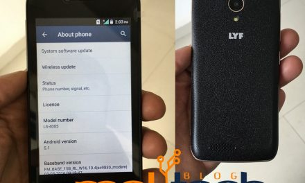 Reliance LYF Flame 6 runs on AOSP Android, don't have Google Mobile Services