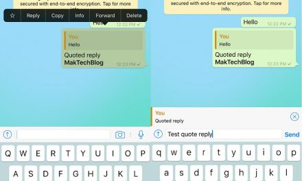 WhatsApp adds Quote Reply feature on iPhone and Android