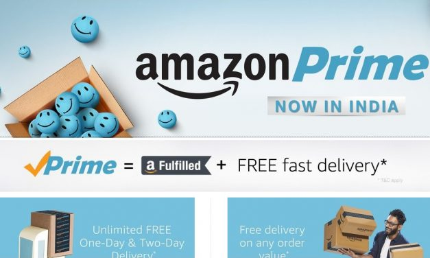 Amazon Prime available in India, priced at Rs. 449/year