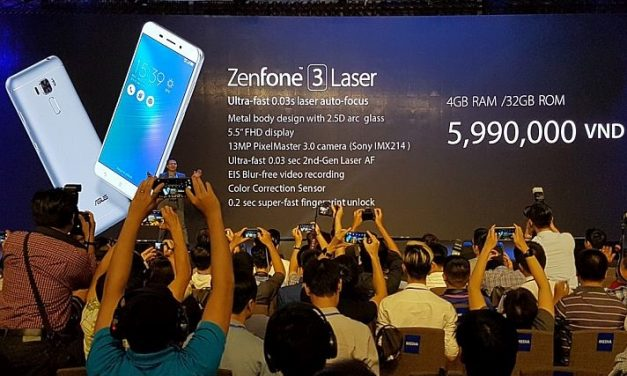 Asus Zenfone 3 Laser with 4GB RAM announced