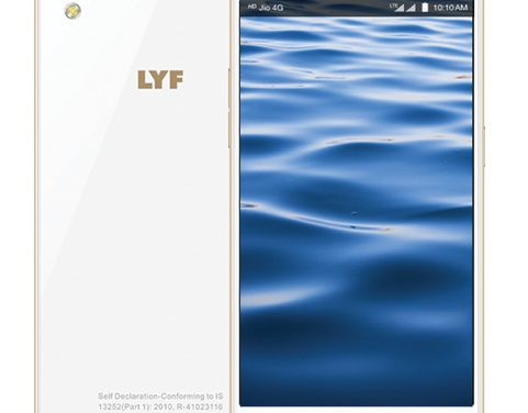 Reliance LYF Water 8 with 3GB RAM, HD screen launched at Rs. 10,999