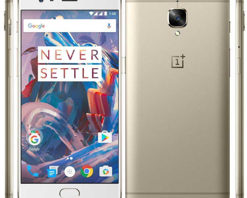 OnePlus 3 in Soft Gold color releasing worldwide