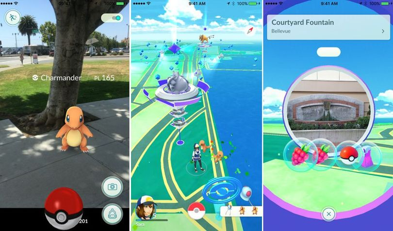 Pokémon Go Game released for Apple iOS and Android smartphones