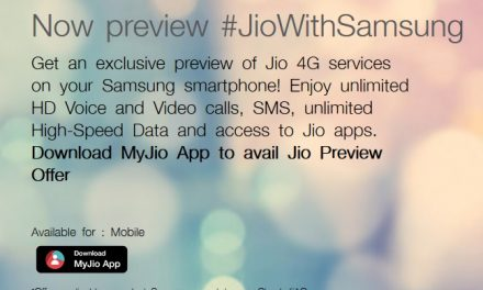 Reliance Jio 90 days Preview offer expands to Samsung smartphone