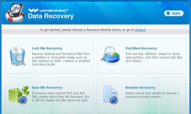 Review: Wondershare Data recovery software