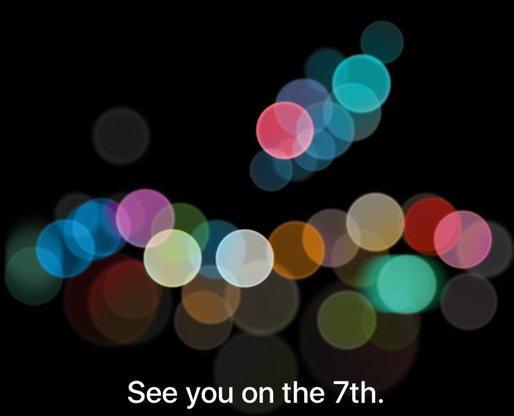 Apple sends invites for Apple iPhone 7 launch event on September 7th