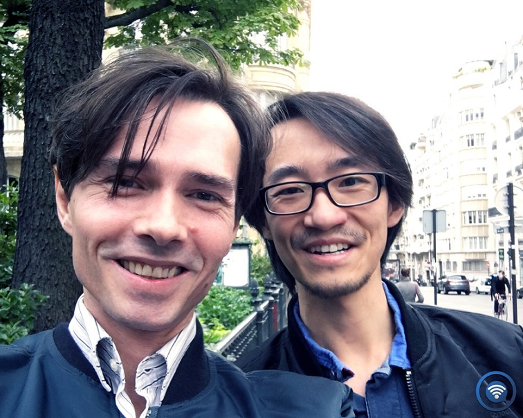 Alexandre Despallieres and Xin Wei