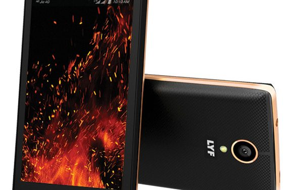 Reliance LYF Flame 7 with 4 inch screen launched at Rs. 3,499