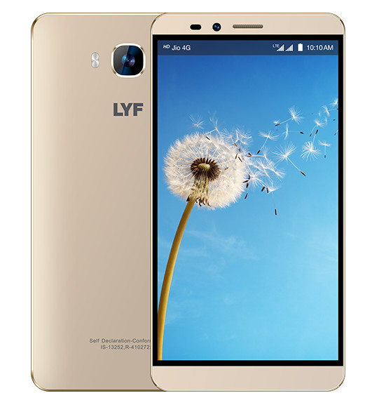 Reliance LYF Wind 2 with 2GB RAM, 6 inch screen launched at Rs. 8,299