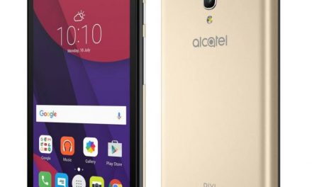 Alcatel Onetouch PIXI 4 (5) launched in India priced at Rs. 4,999