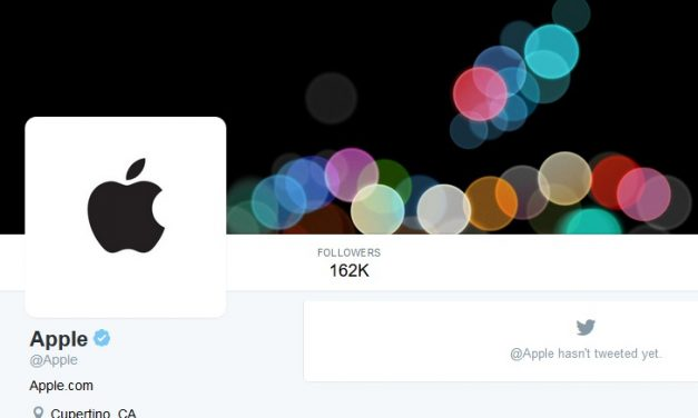 Official Apple account goes live on Twitter ahead of iPhone 7 launch