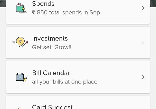 Review: ET Money (SmartSpends) Android app – allows to invest in Mutual Funds