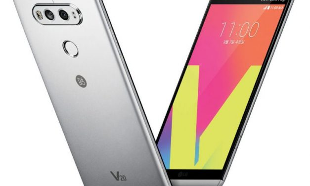 LG V20 with Dual Display, 4 GB RAM, Android 7.0 Nougat announced