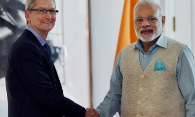 Apple CEO Tim Cook wishes PM Narendra Modi Happy Birthday in Sanskrit