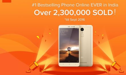 Xiaomi sells 23 Lakh units of Xiaomi Redmi Note 3 in India