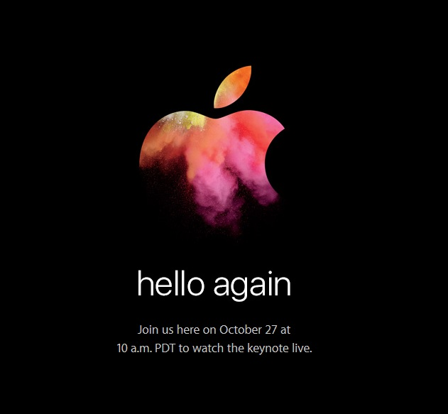 Apple to live stream 'hello again' event live on its website