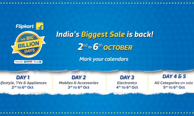 Flipkart Big Billion Days Sale goes live, Check top offers on Day 1
