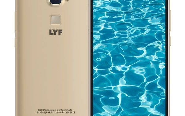 Reliance LYF Water 9 with Fingerprint sensor launched in India for Rs. 8,699
