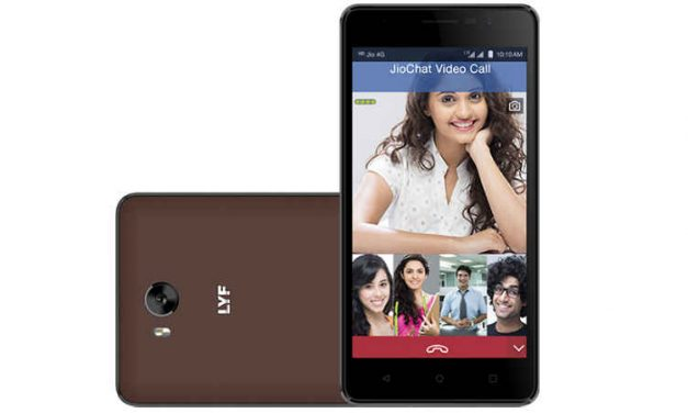 Reliance LYF Wind 4s with 4,000mAh battery launched priced at Rs. 7,699