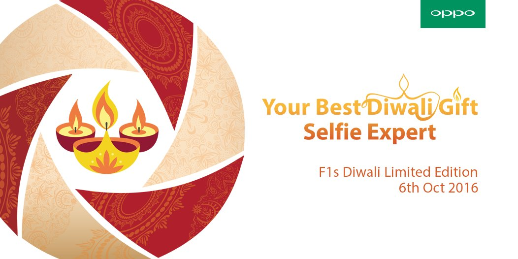 OPPO to launch F1s Diwali Limited Edition launching in India on 6th October