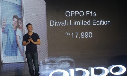 Oppo F1s Diwali Limited Edition launched in India for Rs. 17,990