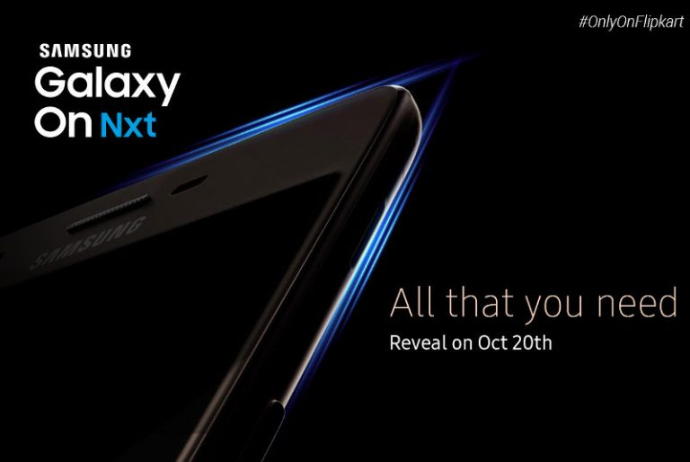 Samsung Galaxy On NXT Flipkart Exclusive to be launched in India tomorrow