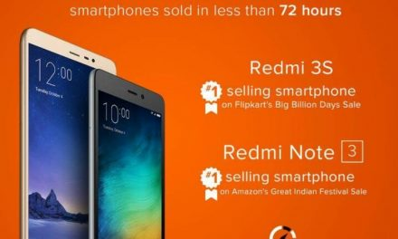 Xiaomi sells 5 Lakh phones in India in 3 days in first week of October