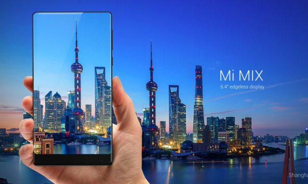 Xiaomi Mi Mix With a 6.4-inch Bezel-Less Display Announced in China