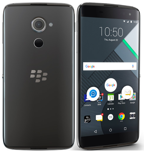 BlackBerry DTEK60 with Quad HD screen launched in India, priced at Rs. 46,990