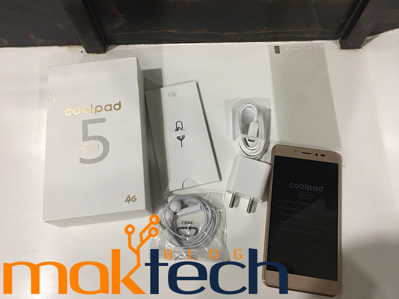 Coolpad Note 5 Unboxing