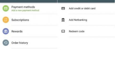 Google Play Store in India gets Netbanking payment option