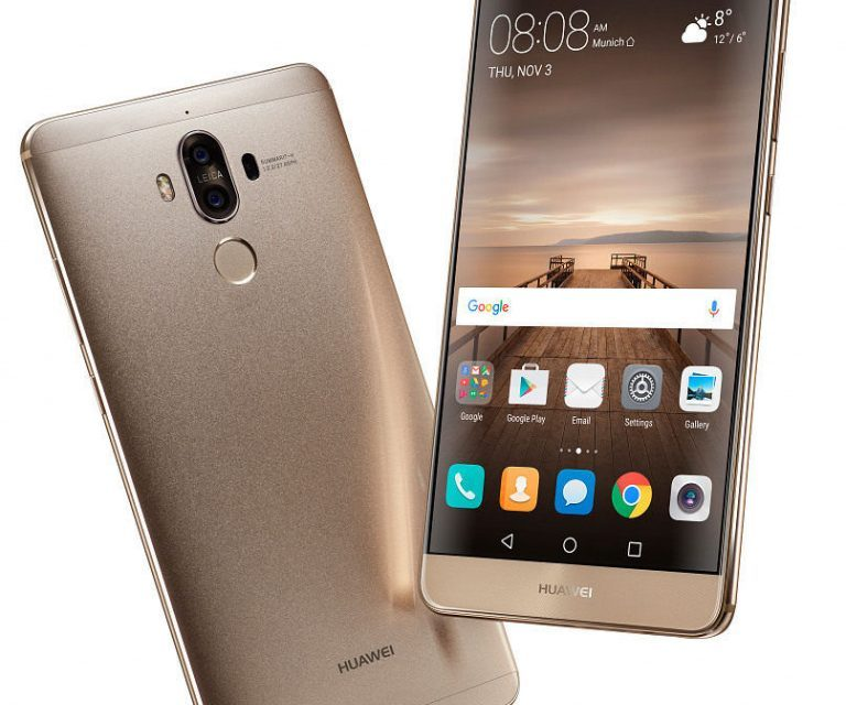 Huawei Mate 9 with Dual Leica rear cameras, 5.9 inch screen announced