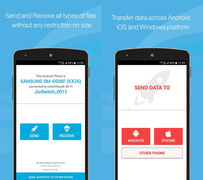 Reliance launches JioSwitch app for transferring data between smartphones