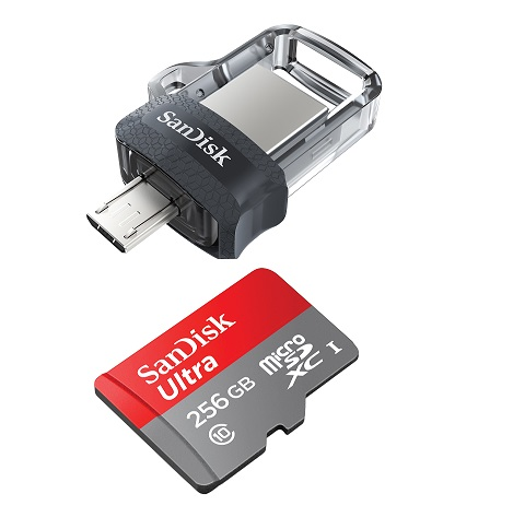 Western Digital launches SanDisk Ultra Dual Drive and 256GB Ultra MicroSD card in India
