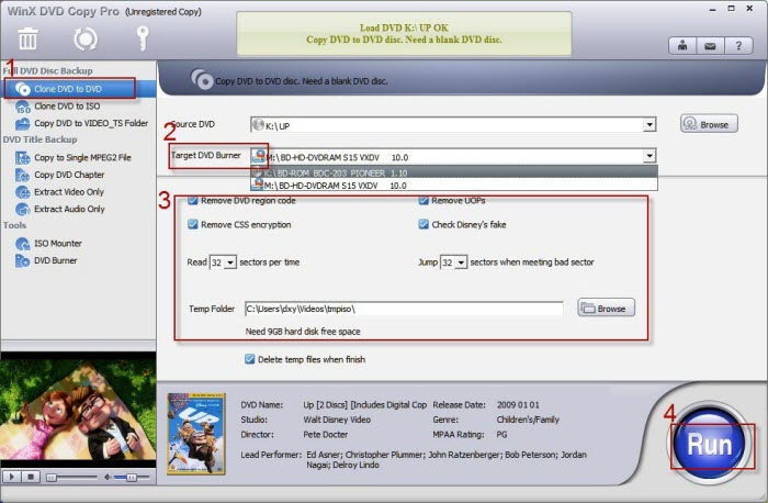 Review: WinX DVD Copy Pro – Amazing tool for managing DVD