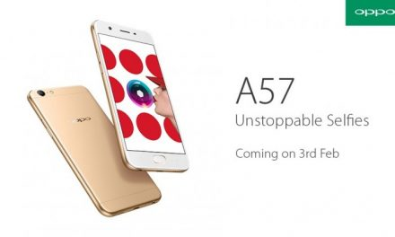 Oppo A57 With 16MP Front-Facing Camera to Launch in India on February 3